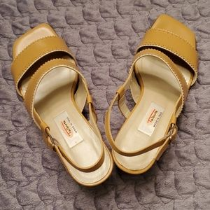 Talbots semi new sandals made in Italy